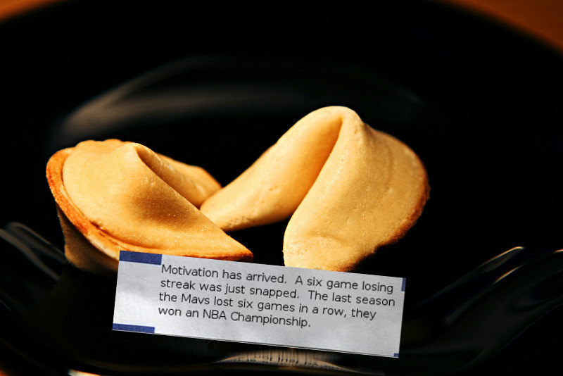 Fortune Cookie Losing Streak