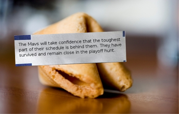 Fortune Cookie Schedule
